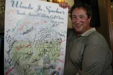 Stuart Pankin at the 4th Annual Wendie Jo Sperber Charity Golf event in aid of the nonprofit cancer center, weSPARK.